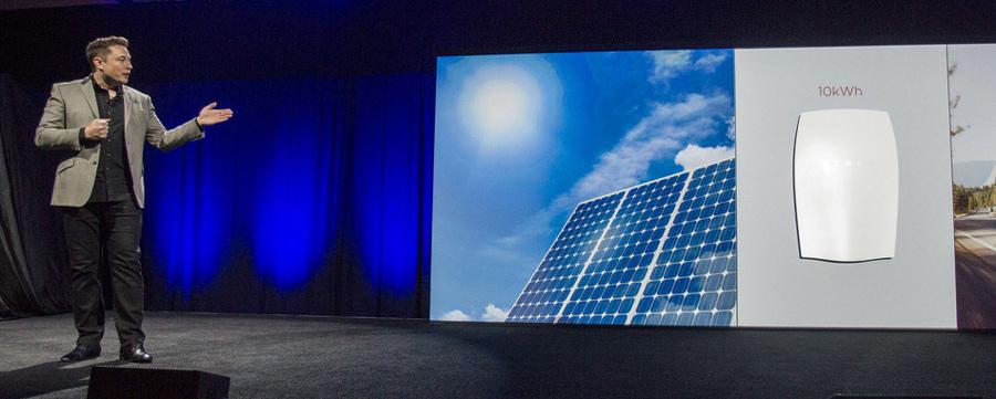 تسلا ساخت باتری های خانگی پاوروال را درسال 2016 کلید می زند