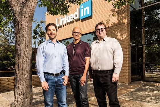 مایکروسافت شرکت لینکدین را ۲۶،۲ میلیارد دلار خرید