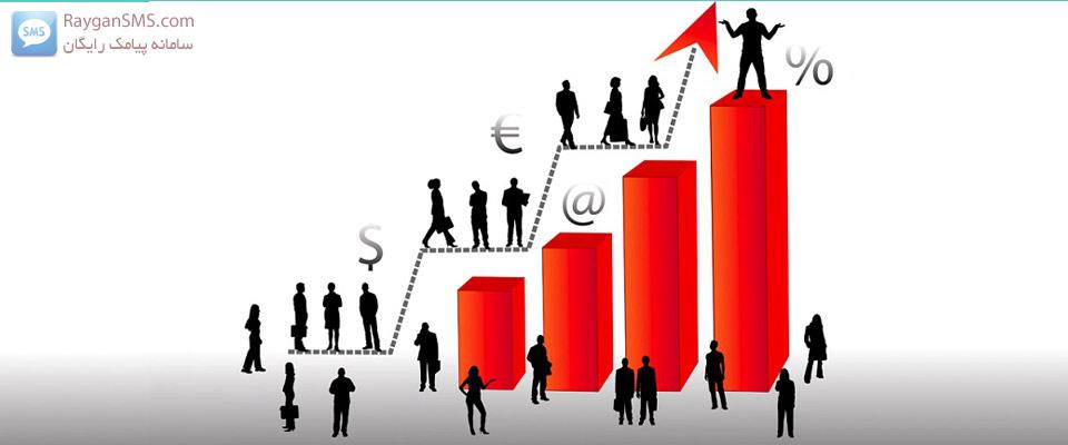 افزایش فروش با اس ام اس